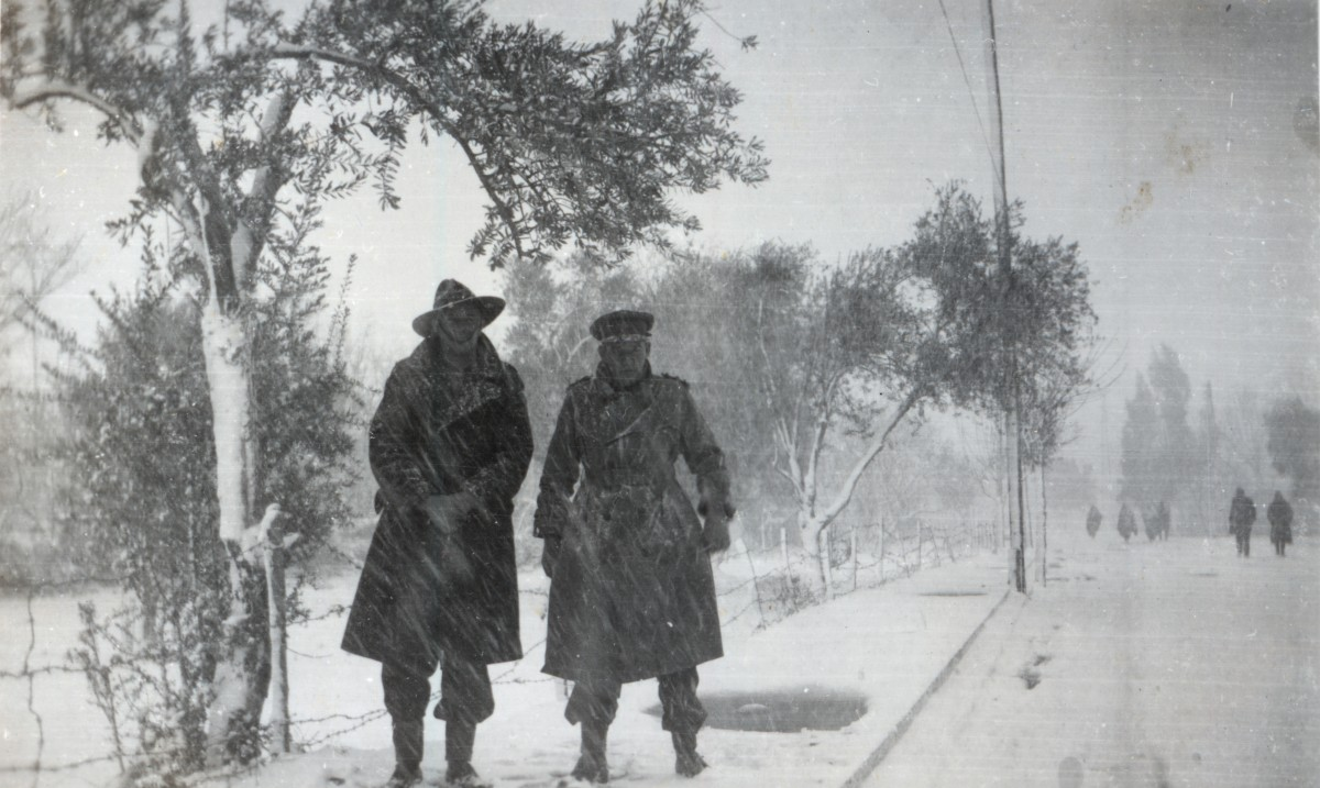 WWII, Winter, Syria and Lebanon