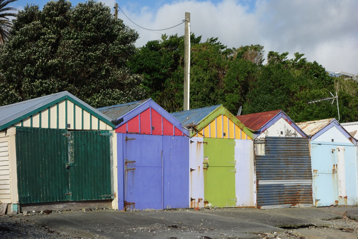 The colours of New Zealand – South North Island!